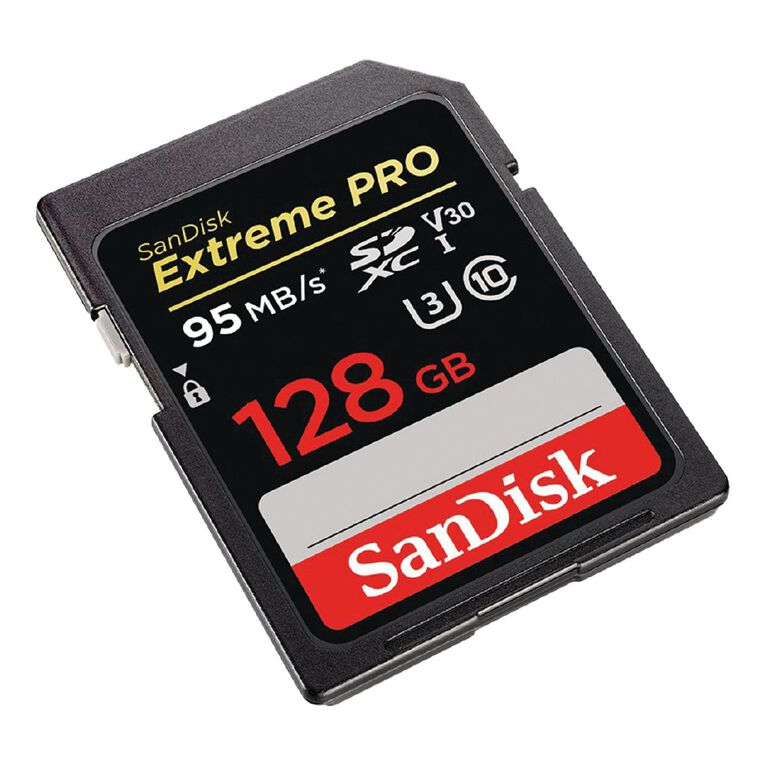 Sandisk Extreme Pro SDXC 128GB 95MBS UHS1 C10 U3, , hi-res