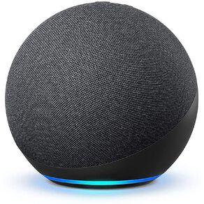 Amazon Echo 4th Gen with Premium Sound, Smart Home Hub & Alexa Charcoal