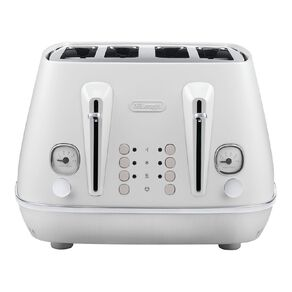 Delonghi Distinta Moments 4-slice Toaster - Sunset White