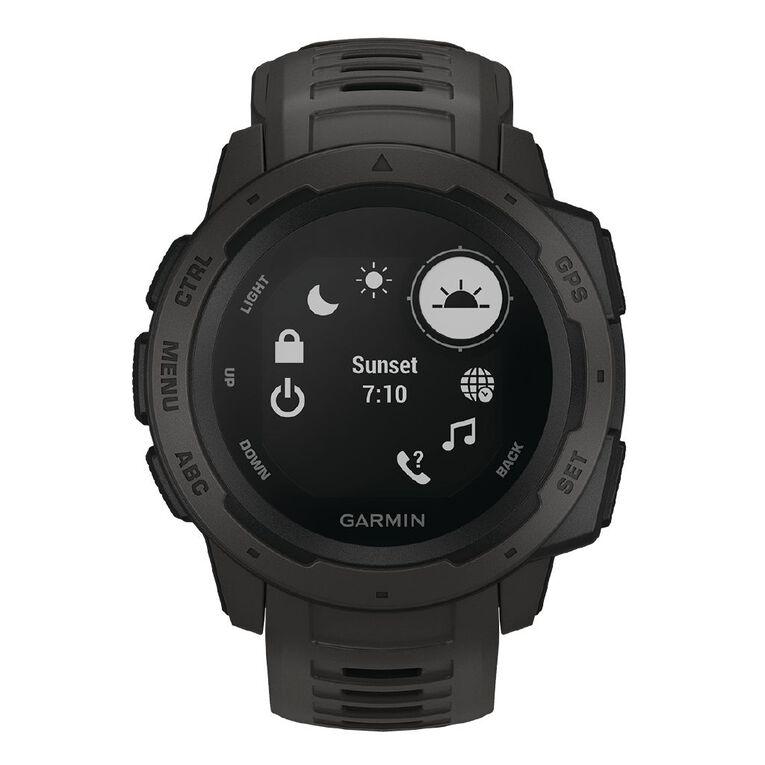 Image of Garmin Instinct GPS Watch Graphite
