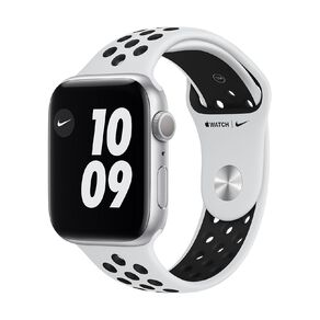 Apple Watch Series 6 Nike 44mm GPS Silver  Aluminium Case with Pure Platinum/Black  Nike Sport Band