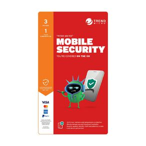 Trend Micro Mobile Security 3 Device 1 Year