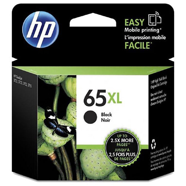 HP 65XL Ink - Black, , hi-res