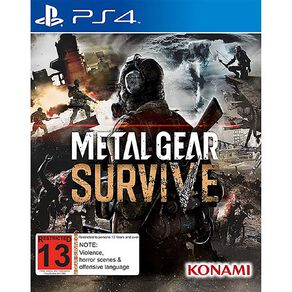 PlayStation 4 Metal Gear Survive