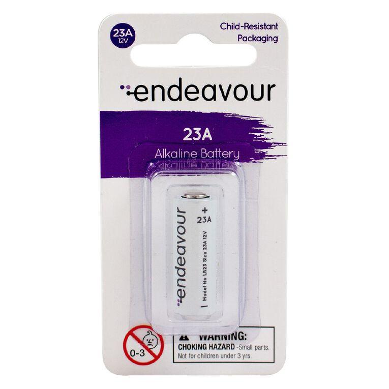 Endeavour 23A 12v Alkaline Battery, , hi-res