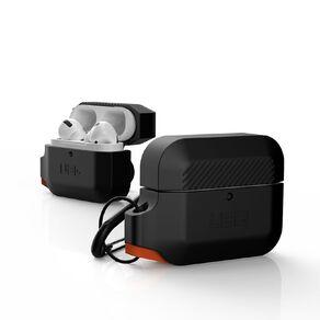 UAG Airpods Pro Silicone Case - Black/Orange