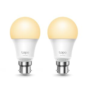 TP-Link Tapo L510B Smart Wifi Dimmable Bulb B22 2Pack