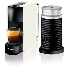Nespresso Breville Essenza Mini Coffee Machine Pure White