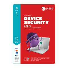 Trend Micro Device Security Basic 5 Device 1 Year Subscription
