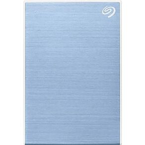Seagate 5TB One Touch Portable with Rescue - Blue