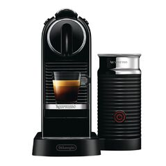 Nespresso DeLonghi CitiZ&Milk Coffee Machine Black