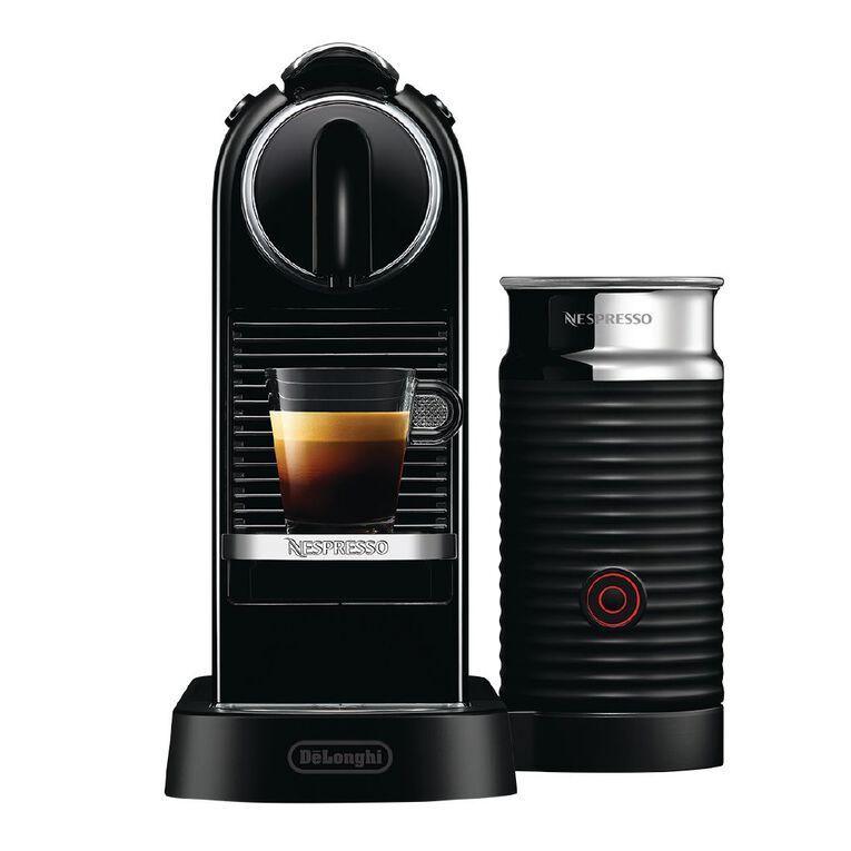 Image of Nespresso CitiZ&Milk EN267BAE Coffee Machine by DeLonghi, Black