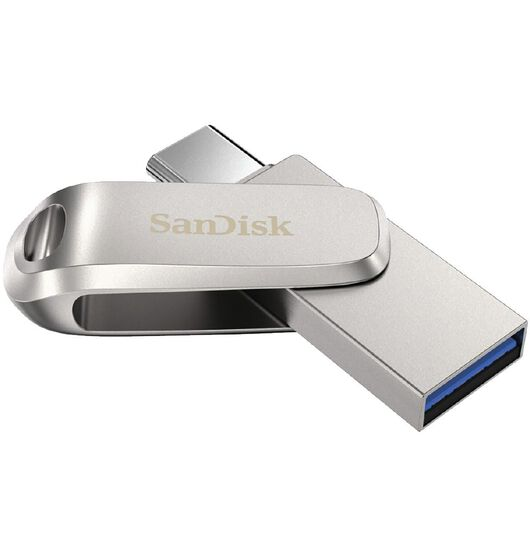 Sandisk Ultra Luxe Dual USB3.1/Type C Flash Drive Metal - 64GB - 150MB/s