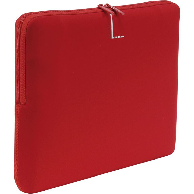 "Tucano 13-14"" Colore Sleeve - Red, , hi-res"