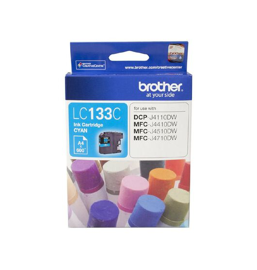 Brother LC133C Ink - Cyan