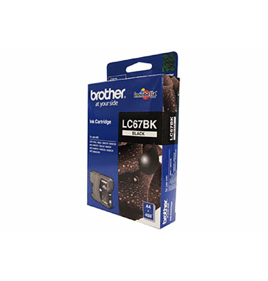 Brother LC67BK black ink for Brother DCP385C