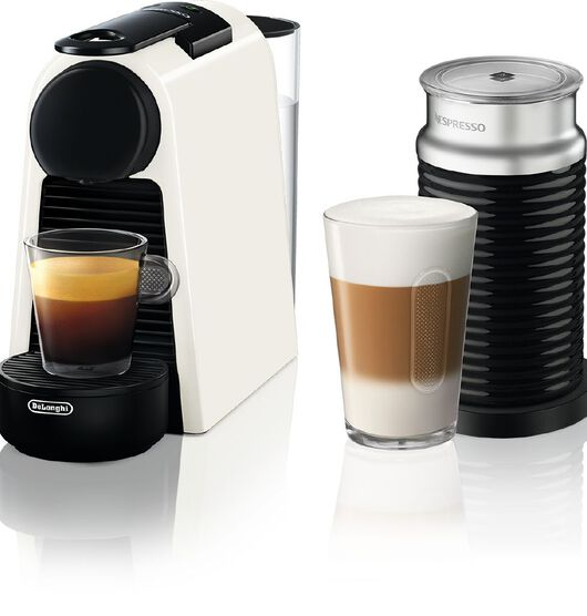 Nespresso DeLonghi Essenza Mini Coffee Machine Pure White