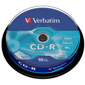 Verbatim CD-R 52x 700MB 10 Pack