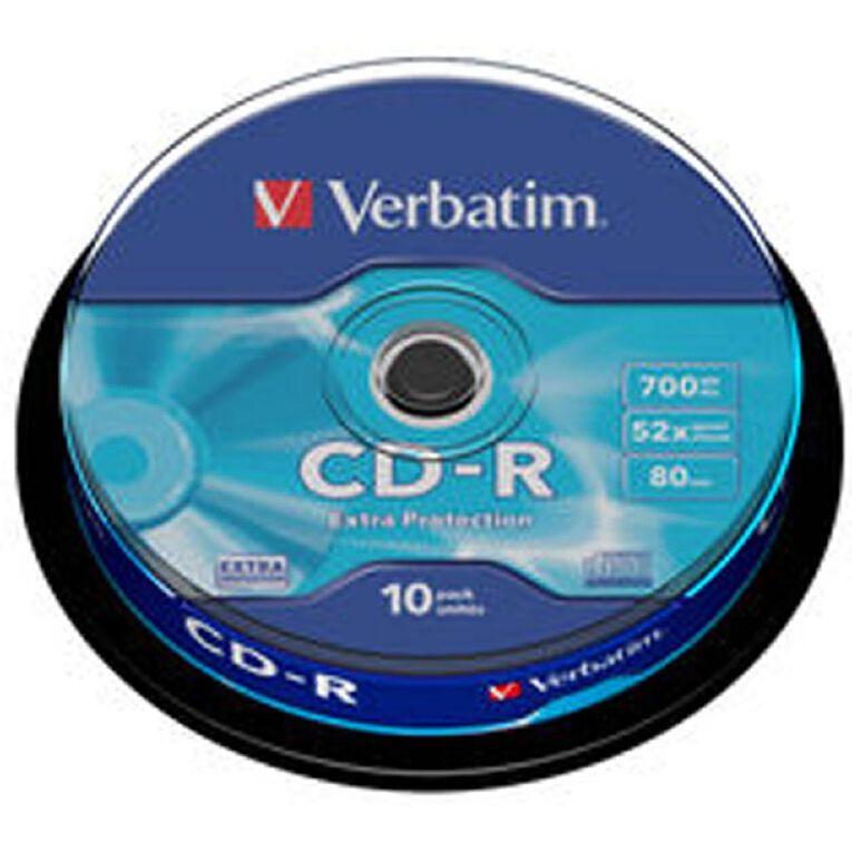 Verbatim CD-R 52x 700MB 10 Pack, , hi-res