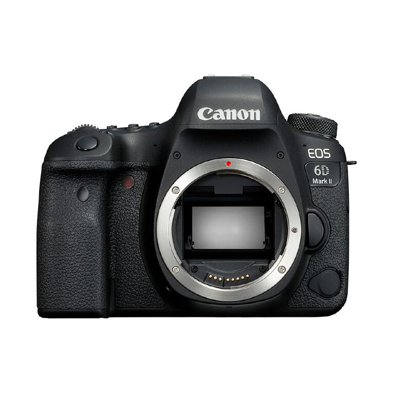 Image of Canon EOS 6D Mark II DSLR Camera Body
