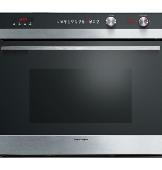 Fisher & Paykel 76cm Pyrolytic Built-In Oven Stainless Steel