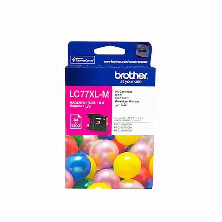 Brother LC77XLM Ink - Magenta, , hi-res