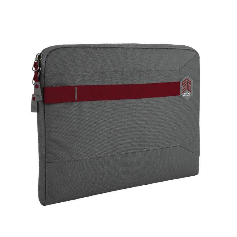 "STM Summary 13""  Laptop Sleeve - Granite Grey, , hi-res"