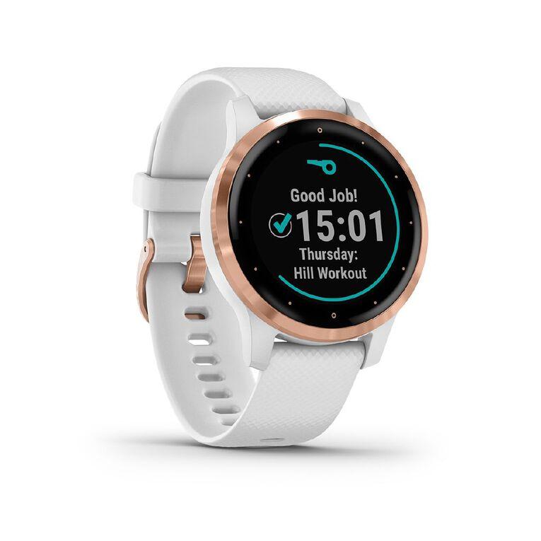 Image of Garmin vivoactive 4S GPS Smartwatch White/Rose Gold
