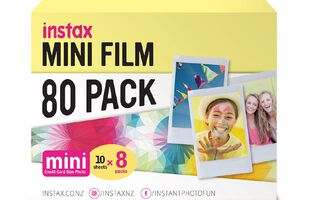 Fujifilm Instax Mini Film Limited Edition 80 Pack