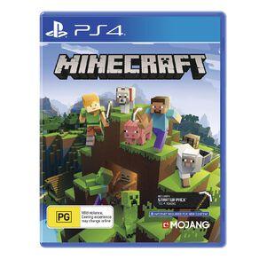 PlayStation 4 Minecraft: Bedrock