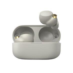Sony WF-1000XM4 True Wireless Noise Cancelling In-Ear Headphones - Platinum Silver