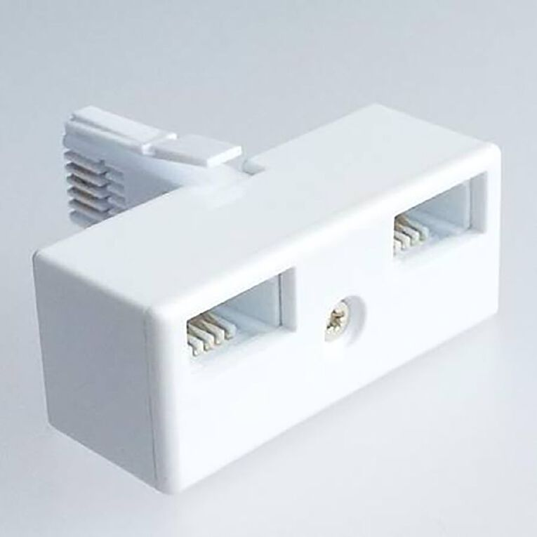 Endeavour Double NZ Telephone Adaptor, , hi-res