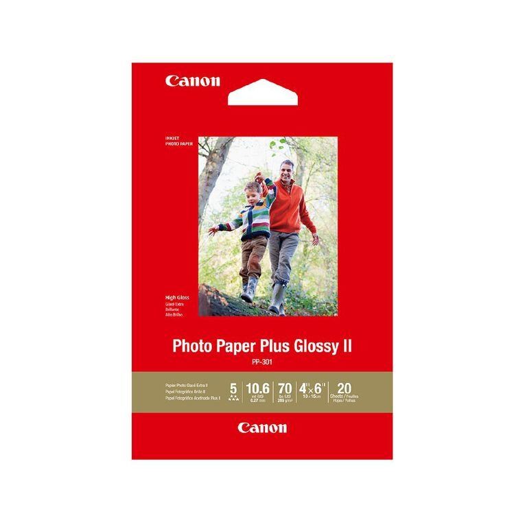 """Canon Photo Paper Plus Glossy II 4x6"""" 20 Pack, , hi-res"""