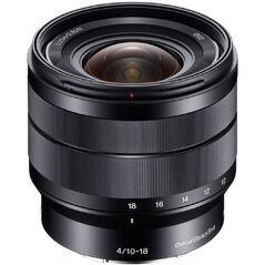 Sony 10-18mm F4 OSS E-Mount Lens