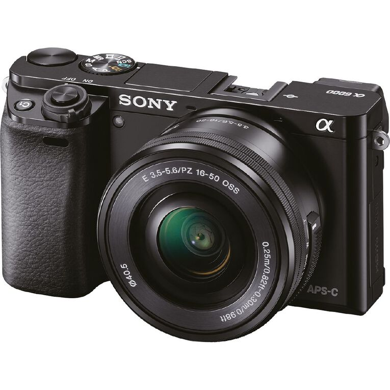 Sony A6000 Mirrorless Camera with 16-50mm Lens, , hi-res