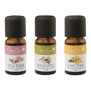 Papillon 3Pack 100% Pure Essential Oils