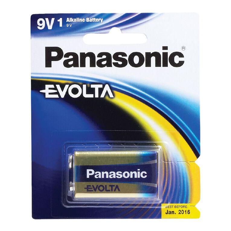 Panasonic Evolta 9V Battery 1 Pack, , hi-res