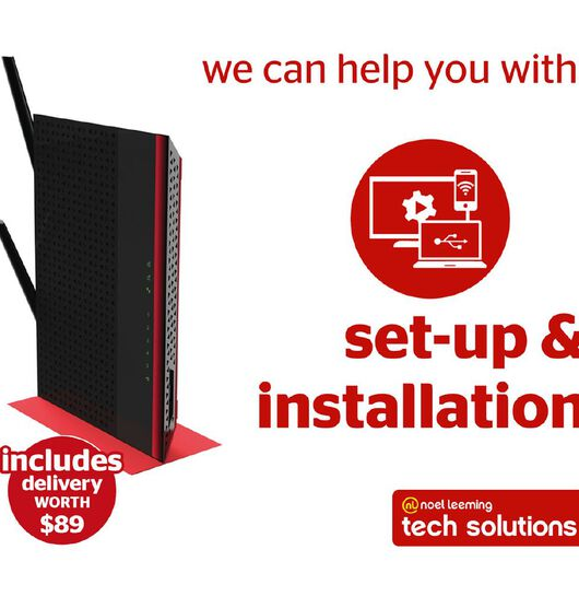Tech Solutions Smart Network Installation & Set Up Service