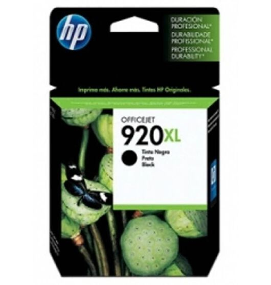 HP 920XL Black Officejet Ink Cartridge (CD975AA)