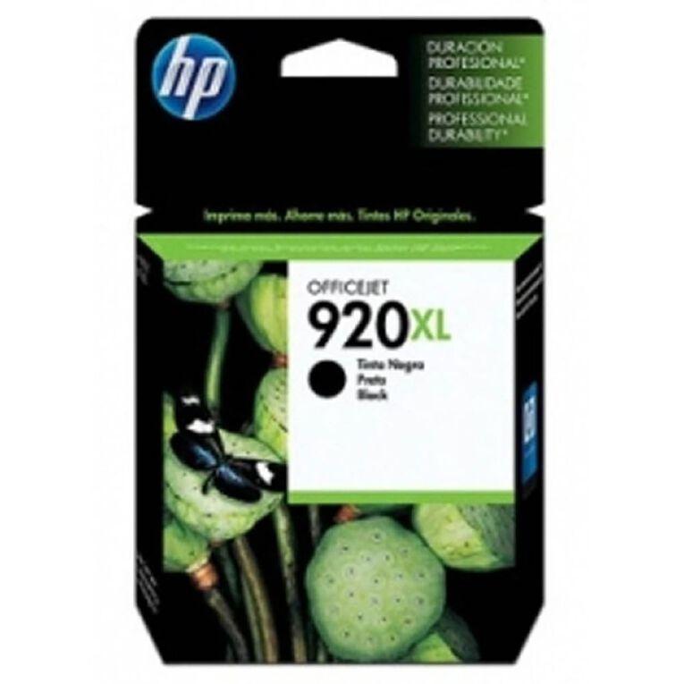 HP 920XL Black Officejet Ink Cartridge (CD975AA), , hi-res