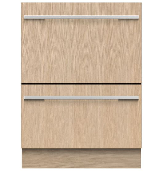 Fisher & Paykel 60cm Integrated Double DishDrawer