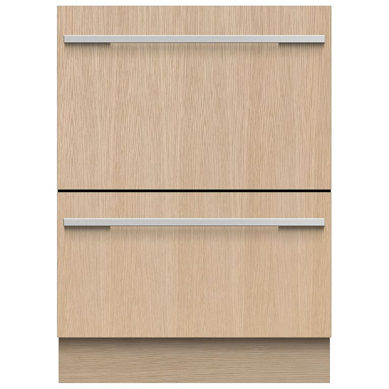 Fisher & Paykel 7 Place Setting Double Dish Drawer - Integrated, , hi-res