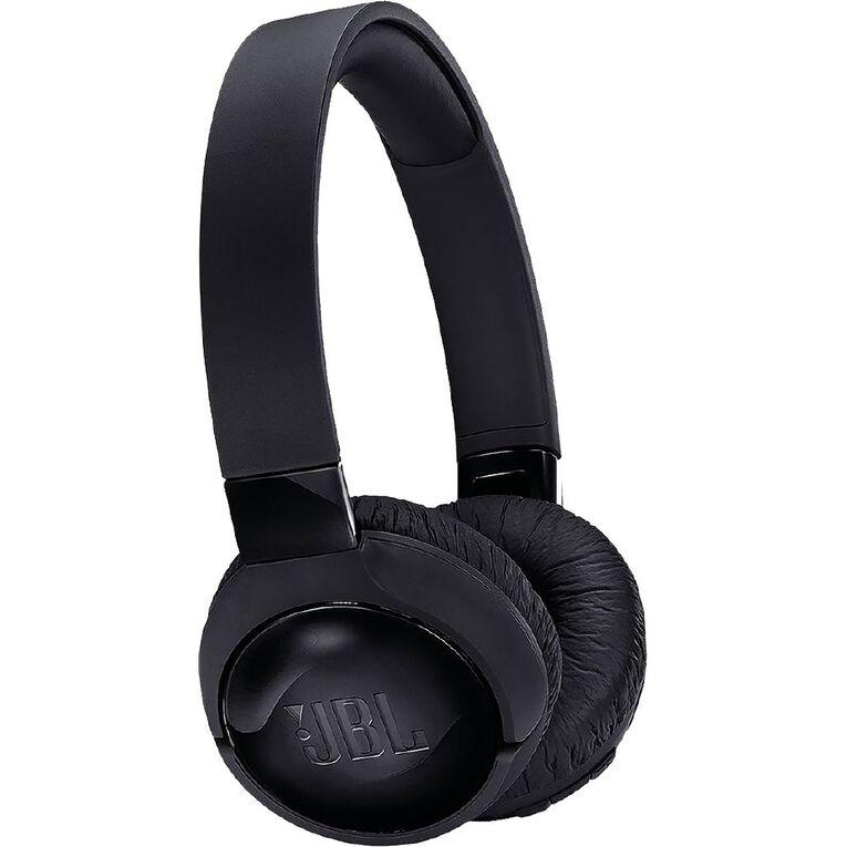 Image of JBL Tune 600 Wireless Noise Cancelling On Ear Headphones - Black