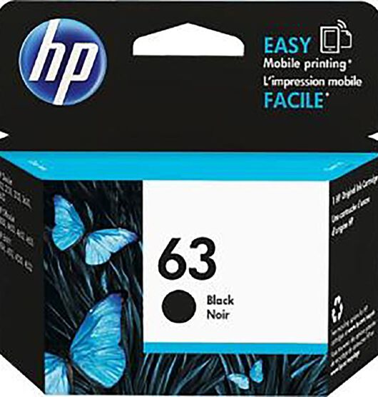 HP NO.63 Ink - Black