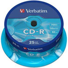 Verbatim CD-R 52x 700MB 25 Pack