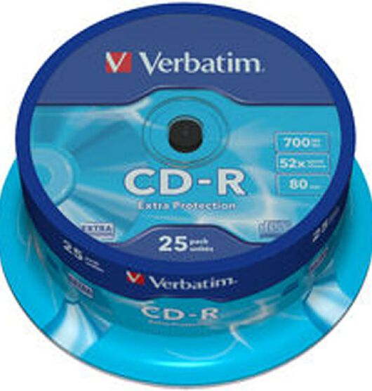 Verbatim CD-R 52x 700MB 25 Pack