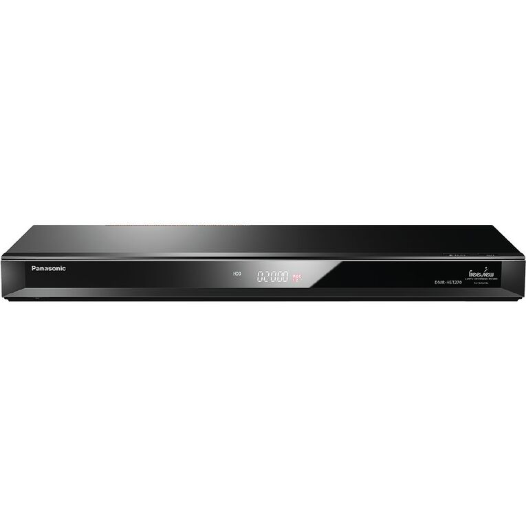 Panasonic Freeview On Demand Recorder with Twin Satellite Tuner, , hi-res