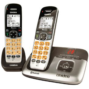 Uniden DECT3236+1 Premium Twin Handset Cordless Phone