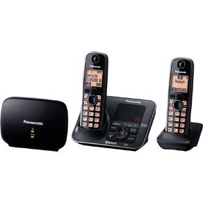 Panasonic Cordless Phone Twin Pack with Answer Phone