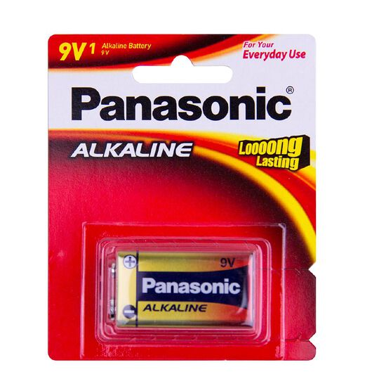 Panasonic 9V Panasonic Alkaline Battery
